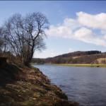 Upstream Veiw from the bottom of the Aberlour beat