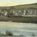 aberlour from other side of the river