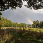Rainbow over Aberlour